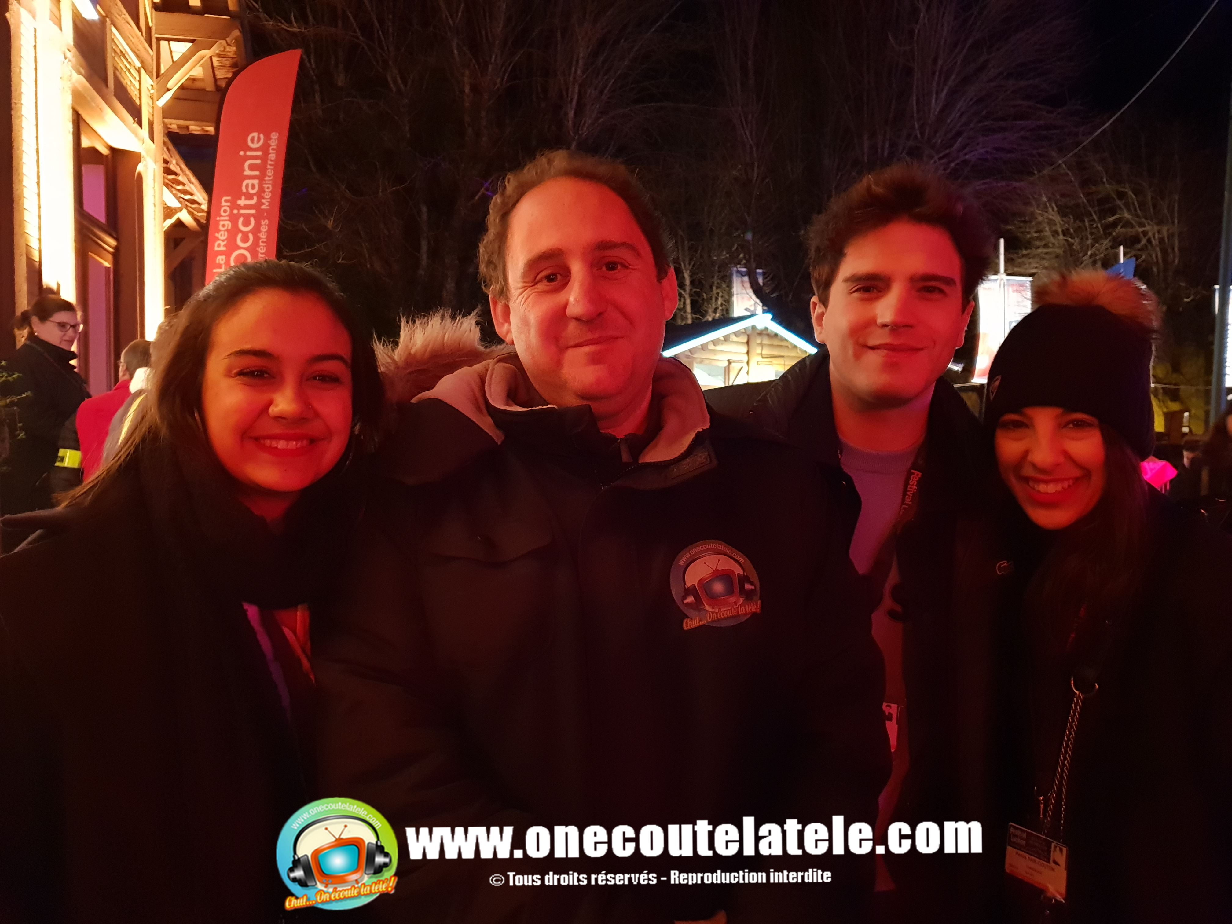 Fred Testot, Demain nous appartient, Vérino, Xavier Deluc, et Sofia Essaïdi Lundi 4 mars dans Chut on écoute la télé