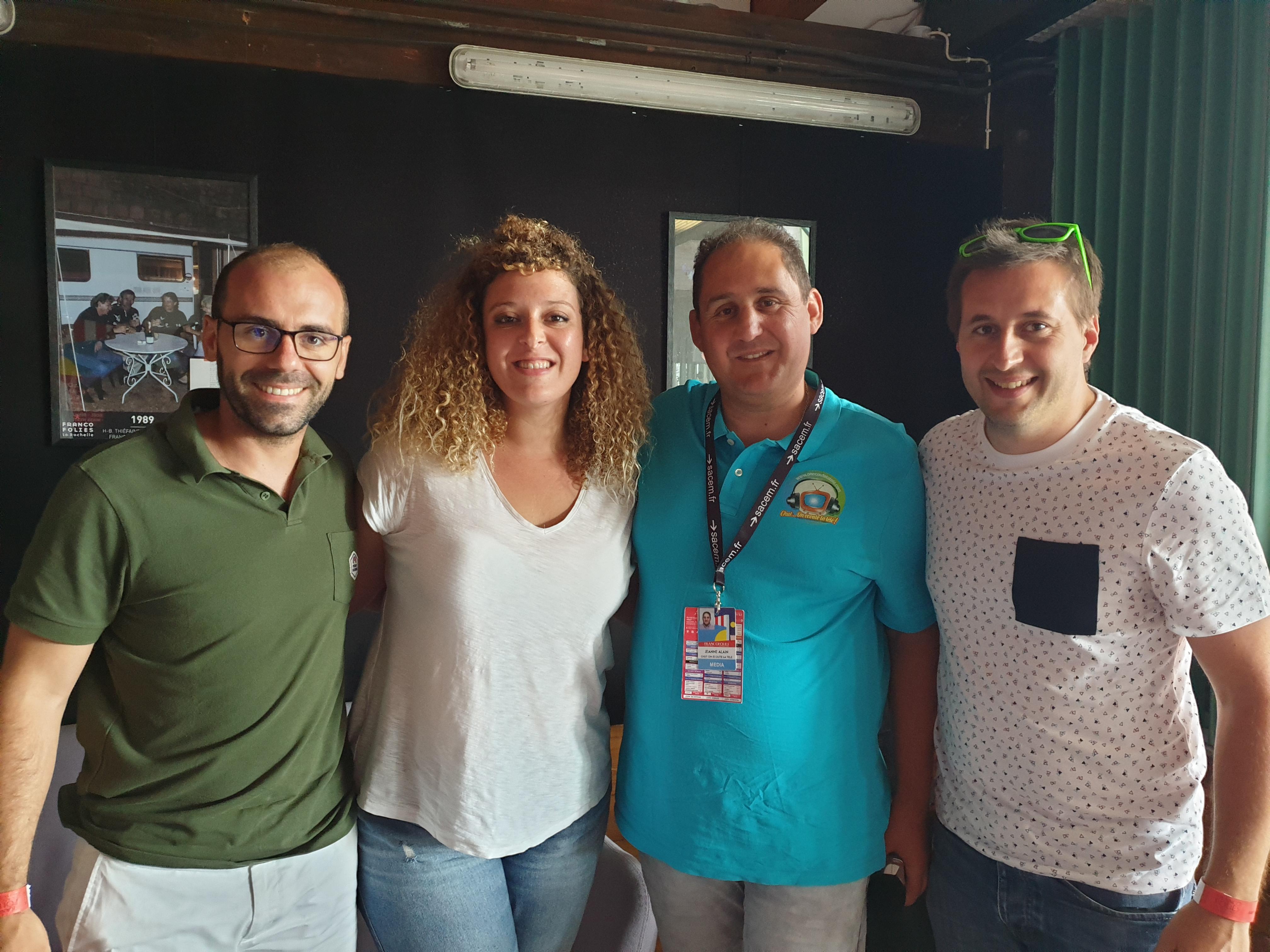 Voici en podcasts nos émissions de ce lundi 22 juillet avec Trois cafés gourmands, La source, Demain nous appartient et Un si grand soleil