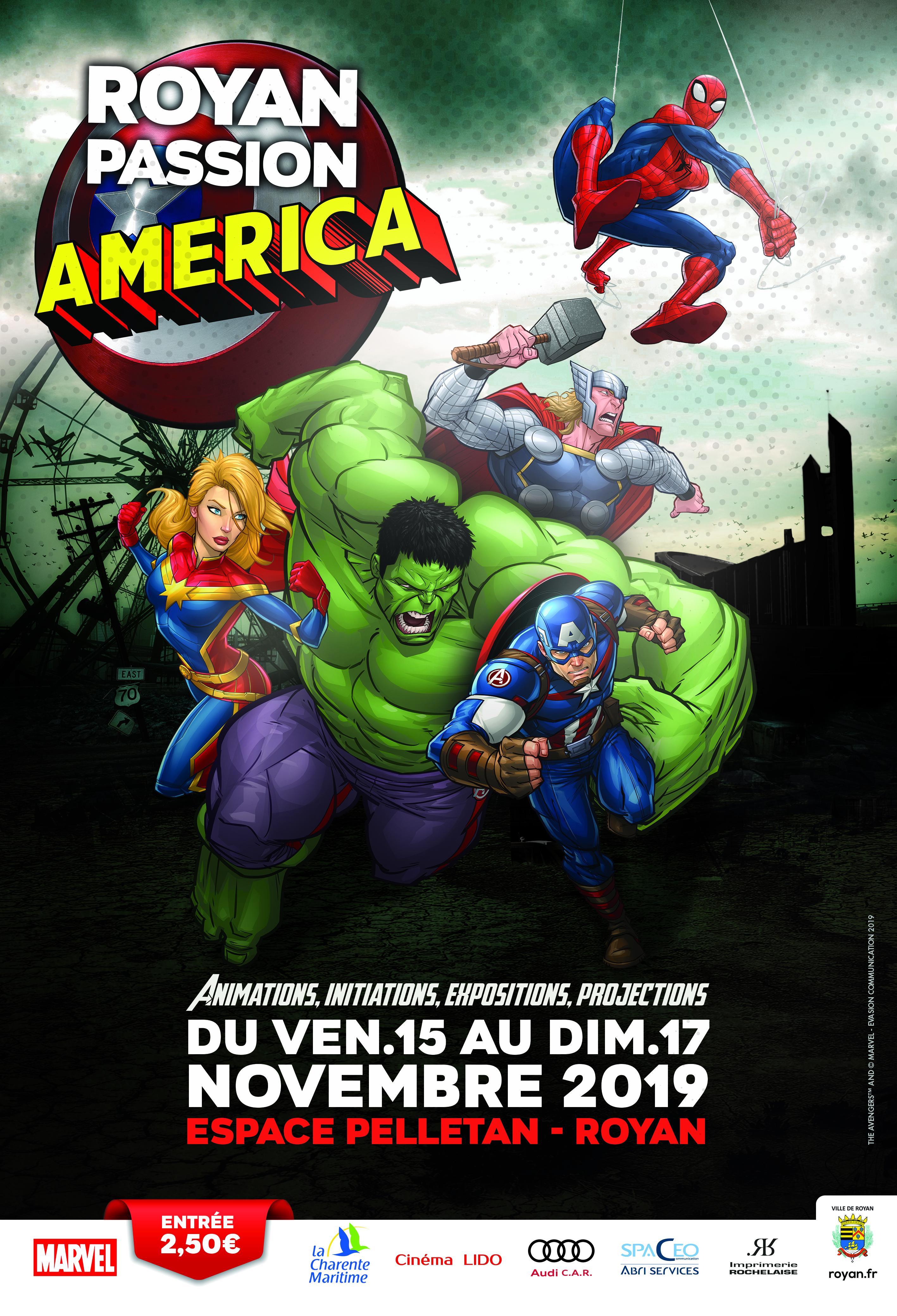 ROYAN PASSION AMERICA ce week end à Royan , voici le programme