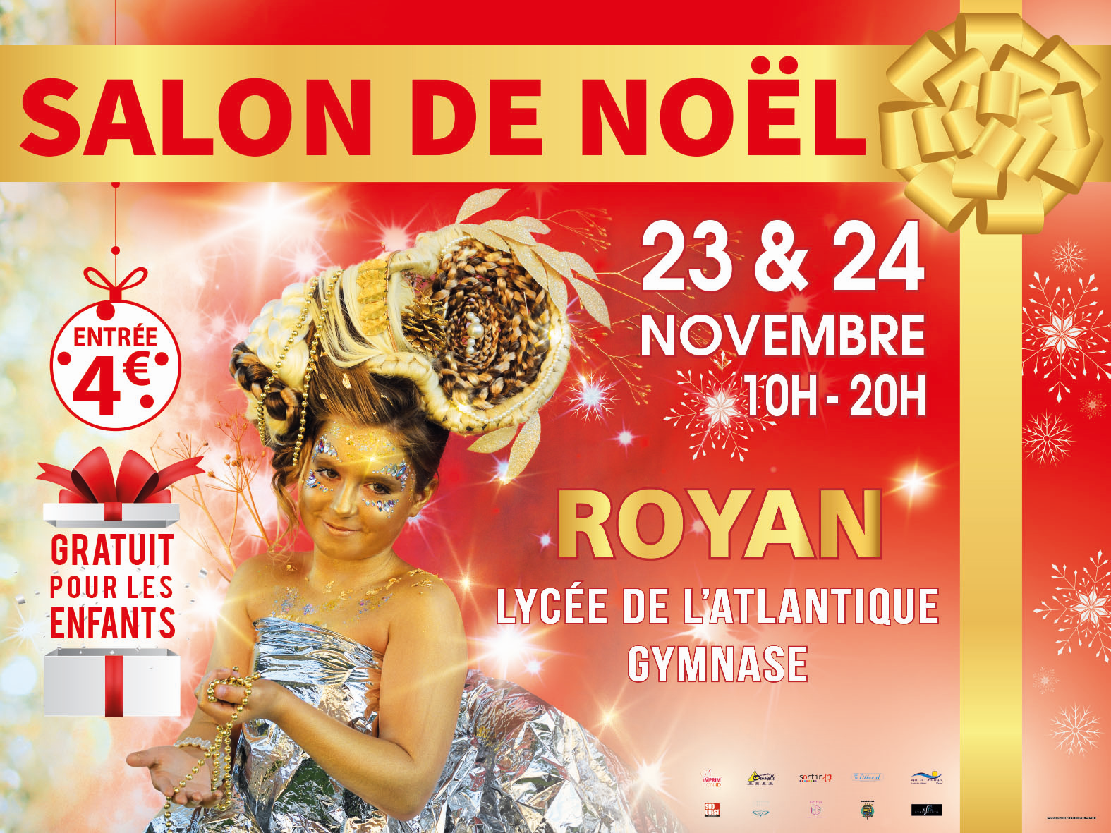LE SALON DE NOEL 1ère EDITION ce week end à Royan, voici le programme