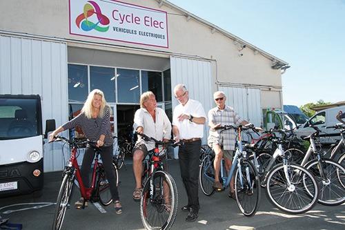Notre partenaire: Cycle Elec Le Gua votre partenaire sport et santé en Charente Maritime